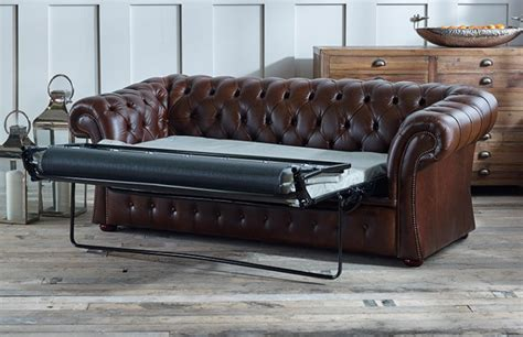 chesterfield leather sofa bed gladbury sofa bed chesterfield company