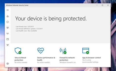 resetting windows defender how to fix health report is not available in windows defender