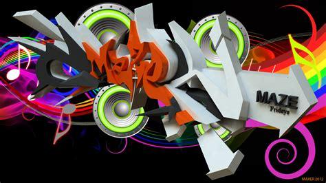cool wallpaper generator maze 3d graffiti by anhpham88 on deviantart