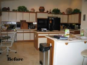 Resurfaced Kitchen Cabinets Before And After Rawdoors Net What Is Kitchen Cabinet Refacing Or Resurfacing
