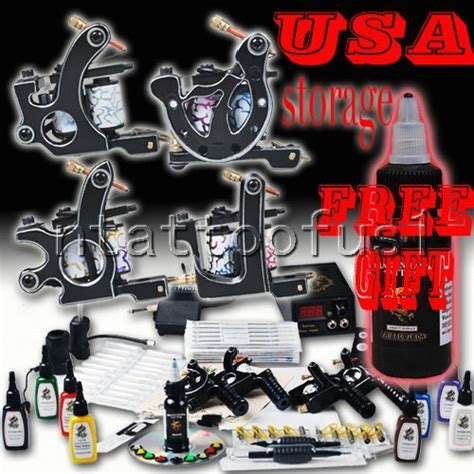 tattoo gun liner voltage complete tattoo kit 6 guns tattoo machine with liner