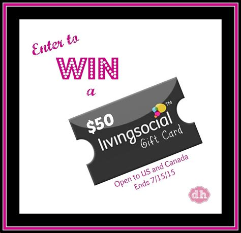 livingsocial 50 gift card giveaway usa can - Living Social Gift Cards
