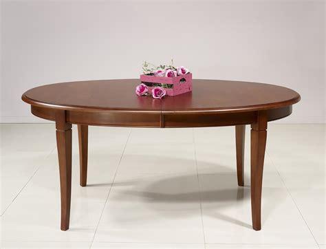 Table A Manger Ovale 1364 table ovale de salle 224 manger estelle en merisier massif