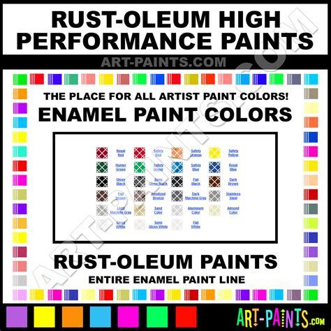 enamel spray paint color chart rustoleum spray paint color chart rust oleum enamel paint color