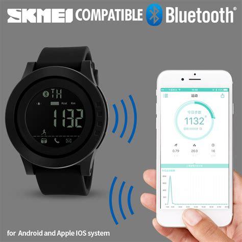 Smart Skmei 1226 Bluetooth Pedometer Smart skmei bluetooth smart sports watches pedometer calories chronograph digital