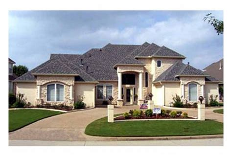 new american style homes eplans mediterranean house plan well planned new