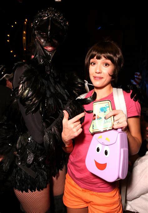 jessica albas halloween costumes popsugar celebrity