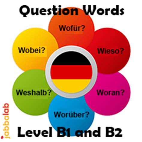 german question words level b1 and b2 171 jabbalab