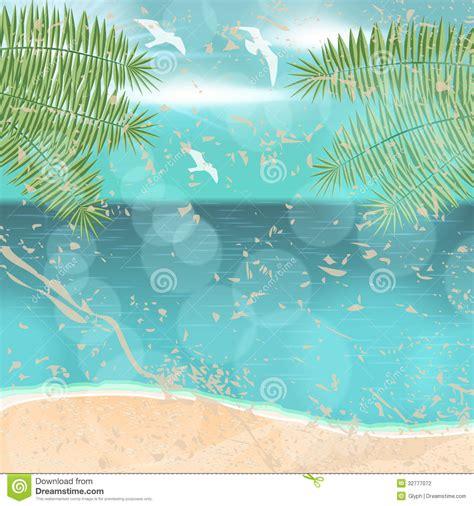 imagenes vintage verano ejemplo hermoso de la playa del verano del vintage