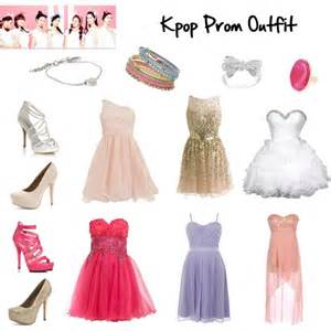 apink kpop prom my my polyvore