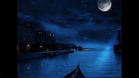 imagenes de jardines nocturnos paisajes nocturnos hermosos youtube