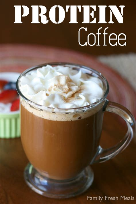 Protein Coffee protein coffee family fresh meals