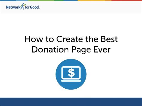 Tips On Creating The Top by Top Tips For Creating The Best Donation Page