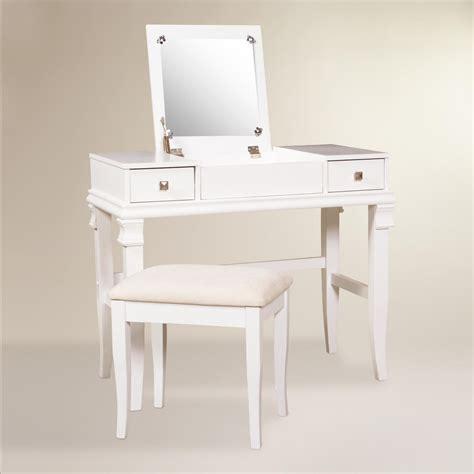 White Vanity Set by White Kari Vanity Set World Market