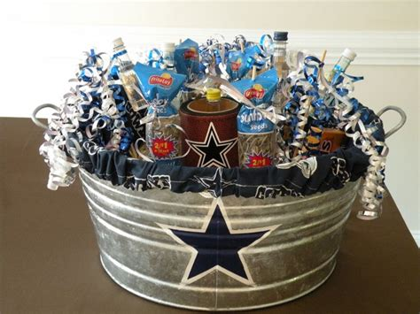 gifts for dallas cowboy fans husband s dallas cowboys birthday gift filled with big boy