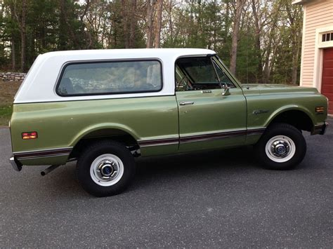 Blazer X4 1972 chevy k5 blazer cst 4x4 vintage mudder reviews of classic 4x4s for sale