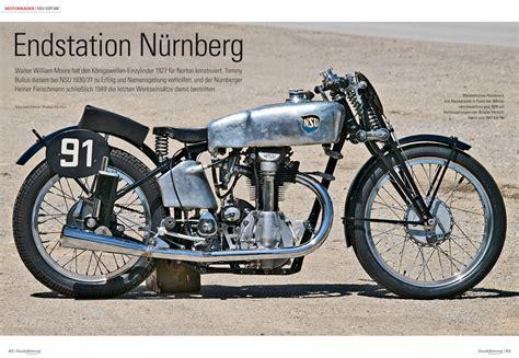 Motorrad Classic 4 2015 by Klassik Motorrad 5 2015 Motorrad Magazin Mo