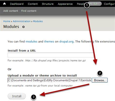 xml sitemap module drupal