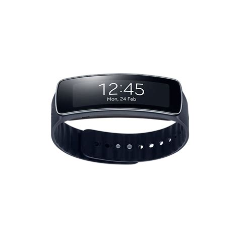 Smartwatch Gear Fit samsung gear fit charcoal black 1 84 quot amoled bluetooth