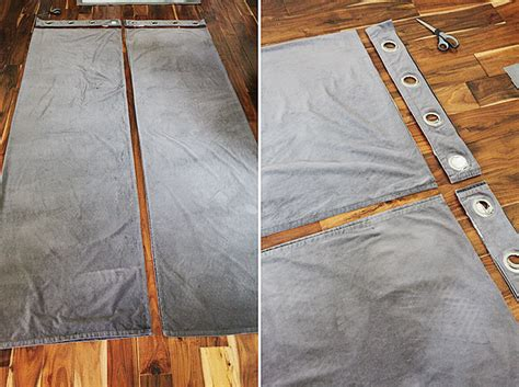 curtain grommets diy how to turn a grommet top curtain into a back tab curtain