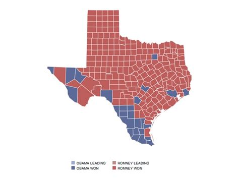 texas voting map the great divide president obama carries top 4 texas cities and st culturemap houston