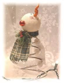 bed spring crafts cute snowman made with rusty bed spring trash to treasure pinterest