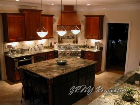 lighting over island kitchen kitchen bathroom remodel home renovation photo gallery grny renovation nyc