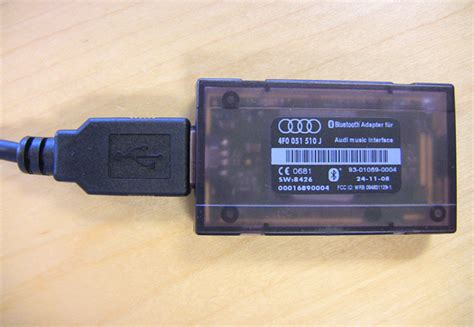 OEM AMI Bluetooth Adaptor   Audi Technical   TyreSmoke