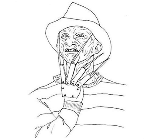 coloring pages horror movies google search sketches