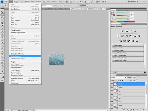 Define Pattern In Photoshop | make glitter text in photoshop sweet c s designs