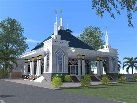 desain gapura haji rumah dijual perumahan subsidi parahyangan hill bandung