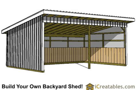 Run In Shed Plans by Plans For Sheds Access Plans For Run In Shed For Horses