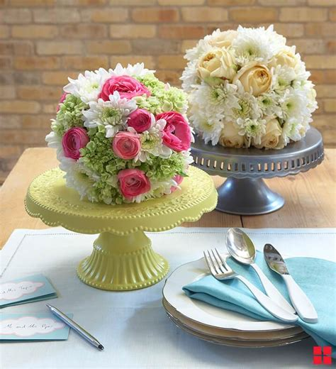 cake stand wedding centerpieces 15 ideas