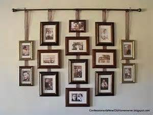 how to hang picture frames without nails dicas da quot antenada e reciclada quot id 201 ias para expor suas fotos