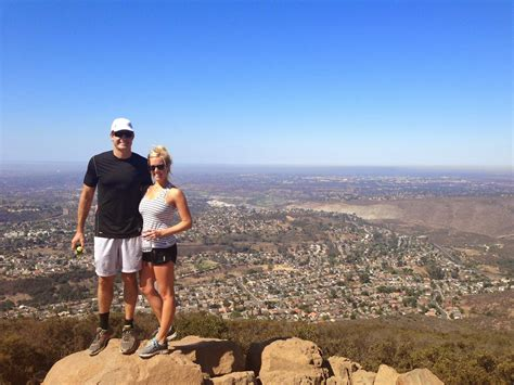 friendly hikes san diego cowles mountain san diego hiking trail go hike it
