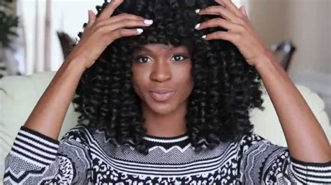 how to crochet braids with bangs how to make a marley afro twist crochet wig with bangs