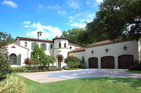 spanish style home spanish house plans architectural designs