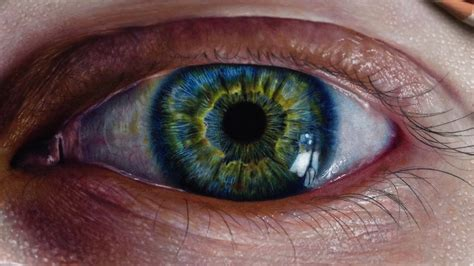 what color is iris how to draw a realistic eye iris colored pencils