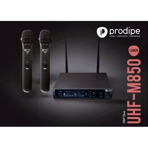 Deal Speaker New Advance Duo 080 Speaker Laptop prodipe uhf m850 dsp duo microphone auditorium26 toulouse