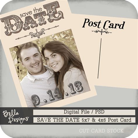 Cutcardstock Com Affordable Cardstock For All Your Papercrafting Projects Save The Date Postcard Template
