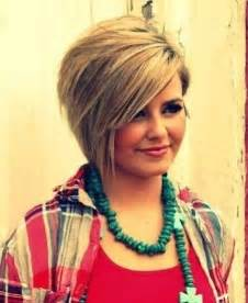trendy hairstyle looks like a herringbone but with rubberbands 10 trendy short hairstyles for women with round faces