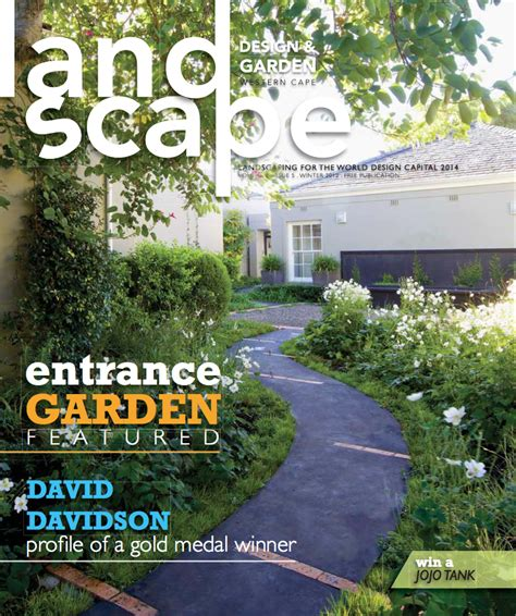 Landscape Design Garden Magazine Western Cape Garden Design Journal