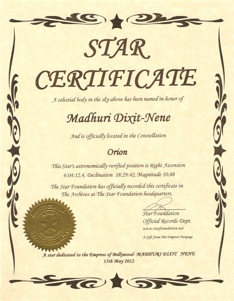 name a certificate template dreamland of