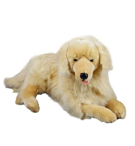 plush golden retriever puppy golden retriever soft plush large spencer by bocchetta plush toys