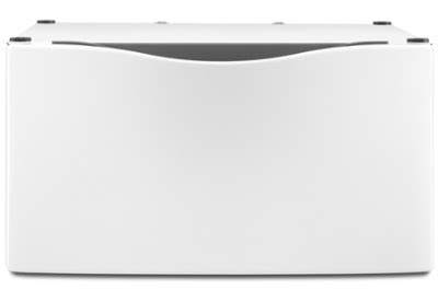 xhp1550vw pedestal whirlpool washer dryer white pedestal drawer xhp1550vw