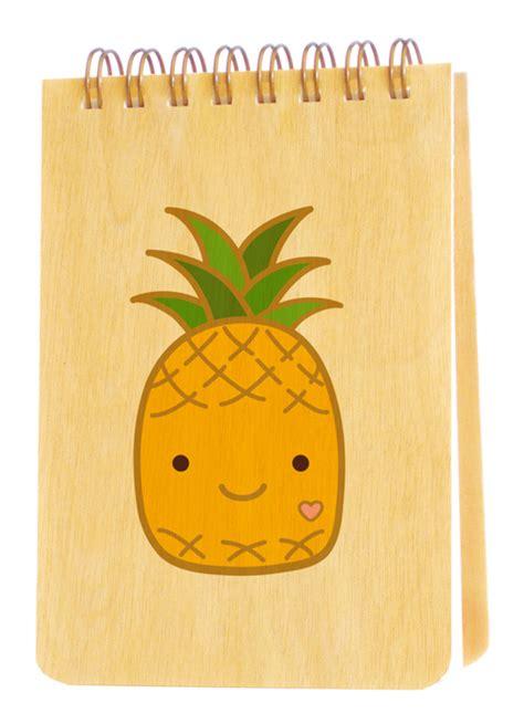 pineapple notebooks desk night owl paper goods