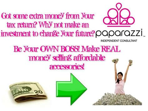 use your tax return to start a business at home start your own paparazzi business with your tax refund