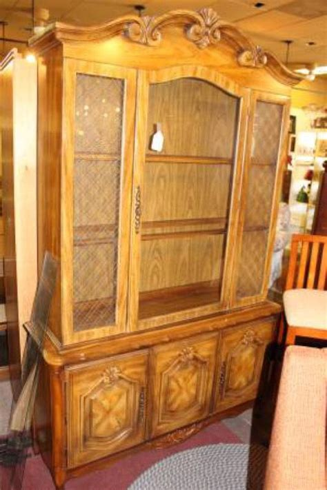french provincial china cabinet craigslist design reinspirations french provincial china cabinet
