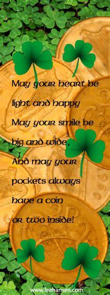 printable irish bookmarks printable bookmarks irish good luck blessing