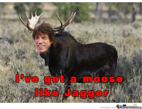 Moose Meme - moose like jagger by lyanos horak meme center